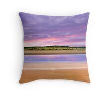 Coorong Sunset I - Limestone Coast, South Australia Throw Pillow
