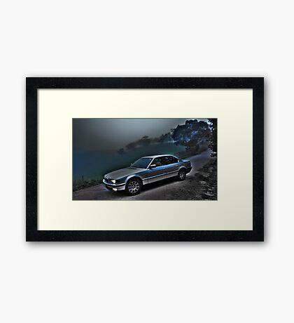 Mistee Beema +HDR Framed Print