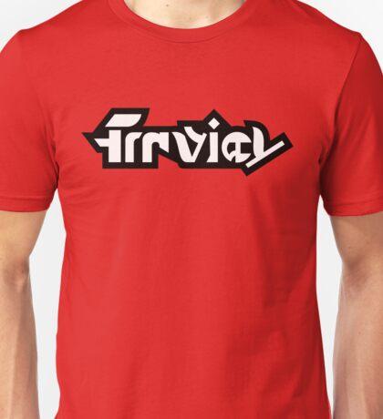 Splatoon Firefin Text Logo White Unisex T-Shirt