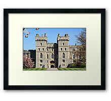 Windor Castle South Wing Framed Print