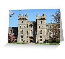 Windor Castle South Wing Greeting Card