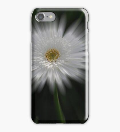 White Gerbera iPhone Case/Skin