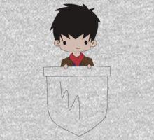 Pocket Merlin! One Piece - Short Sleeve