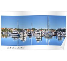 """""""Raby Reflections"""", Raby Bay, Cleveland, Australia Poster"""