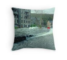 When The Levee Breaks Throw Pillow