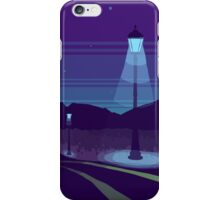 Night road iPhone Case/Skin