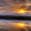 Angels Wings - Narrabeen Lakes, Sydney - The HDR Series by Philip Johnson