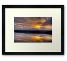 Angels Wings - Narrabeen Lakes, Sydney - The HDR Series Framed Print