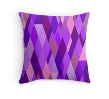 A Study in Violet Throw Pillow