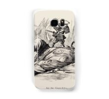 Cartoons by Sir John Tenniel selected from the pages of Punch 1901 0140 Jap the Giant Killer Samsung Galaxy Case/Skin