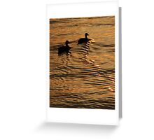 Ripples in the Sunset (Rhode Island) Greeting Card