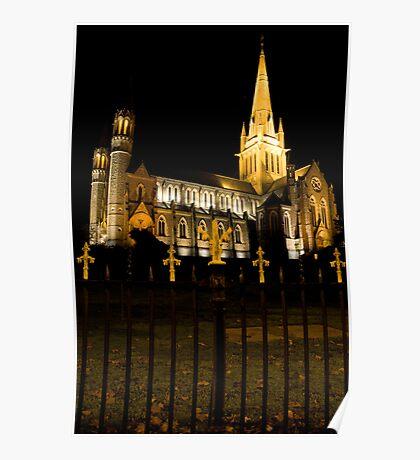 Gothic Church, Bendigo, Victoria, Aust. Poster