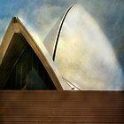 half egg, half sail Opera by Sonia de Macedo-Stewart