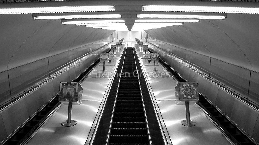 Empty Escalators by Stephen Greaves