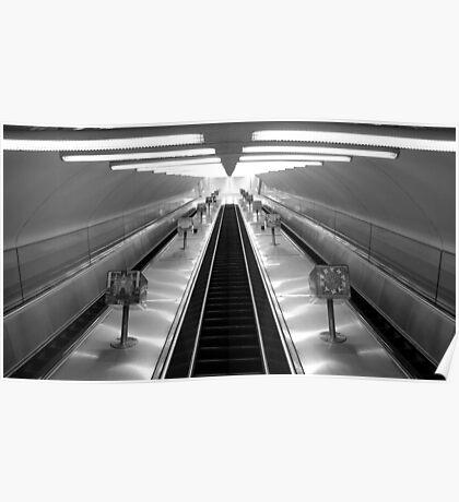 Empty Escalators Poster