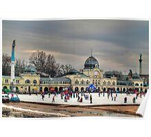 Skating in Budapest Poster