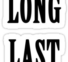 AT.LONG.LAST.A$AP Sticker