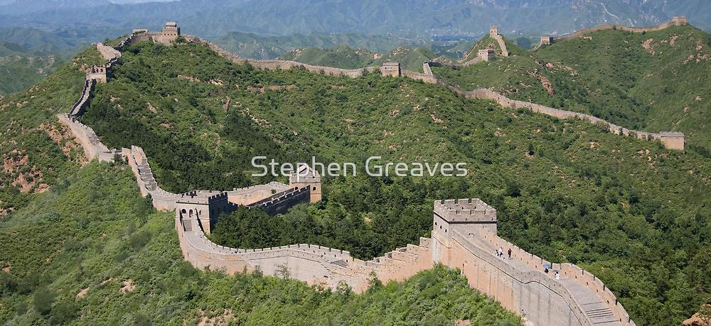 Jinshanling Great Wall by Stephen Greaves