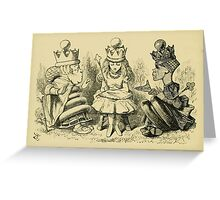 Through the Looking Glass Lewis Carroll art John Tenniel 1872 0210 Nothing Would Remain Greeting Card