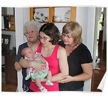 Four Generations Poster
