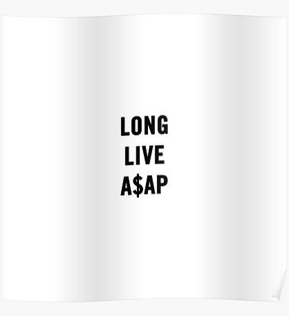 LONG.LIVE.A$AP Poster