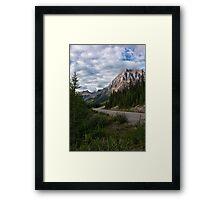 Icefields Parkway in Bloom Framed Print