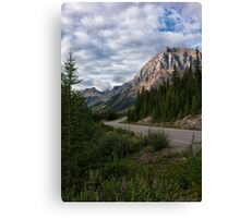 Icefields Parkway in Bloom Canvas Print
