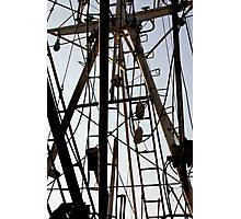 Menemsha Rigging Photographic Print