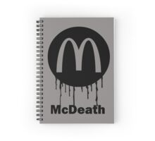 Mcdeath Spiral Notebook