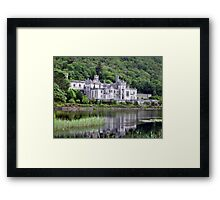 Quiet Upon The Water Framed Print