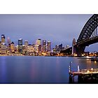 Sydney Night by Kirk  Hille