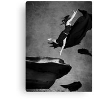 without my wings Canvas Print