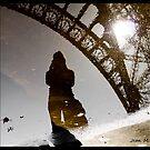 Eiffel reflection by Jean  Malnory