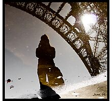 Eiffel reflection Photographic Print