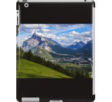 Mount Rundle iPad Case/Skin