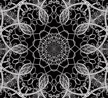 Chainlink Kaleidoscope by Beatriz  Cruz