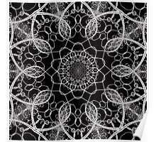 Chainlink Kaleidoscope Poster