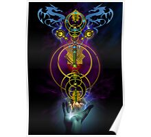 Dragon Staff Poster