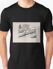 Cartoons by Sir John Tenniel selected from the pages of Punch 1901 0111 Advance Australia Unisex T-Shirt