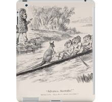 Cartoons by Sir John Tenniel selected from the pages of Punch 1901 0111 Advance Australia iPad Case/Skin