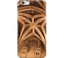 Gothic ceiling iPhone Case/Skin