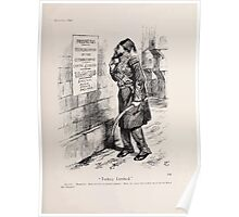 Cartoons by Sir John Tenniel selected from the pages of Punch 1901 0157 Turkey Limited Poster