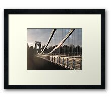Across the Gorge Framed Print