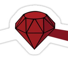 Everything Ruby Sticker