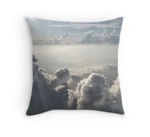 Oh Cloudy Day Throw Pillow