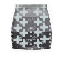 7 DAYS OF SUMMER- 70's KINDA PUNK- SILVER CROSS BOHO Mini Skirt