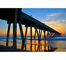 WRIGHTSVILLE BEACH , WILMINGTON NORTH CAROLINA Photographic Print