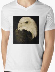 Bald Eagle  Mens V-Neck T-Shirt