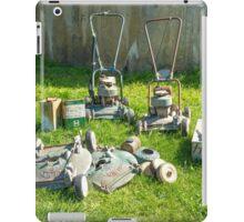 Mower Maintenance... iPad Case/Skin