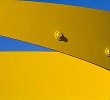 Yellow 1 by Dragomir Vukovic